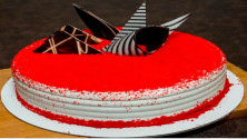 red velvet chocolate cake half kg