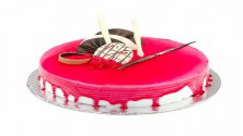 Strawberry cool cake1kg