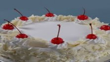 White Forest cool cake 1kg